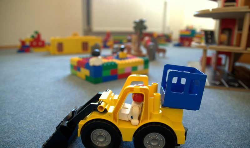 Gelber-Traktor